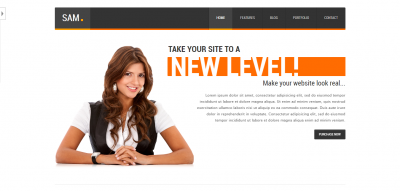 Sam Premium HTML Template