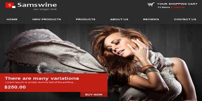 Samswine Retail Facebook Template.