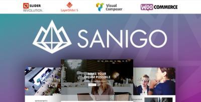 Sanigo Modern Technology WordPress Theme