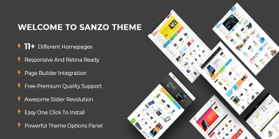 Sanzo - Responsive WooCommerce WordPress Theme