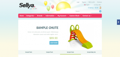 Sellya - Multi-Purpose Responsive OpenCart Theme