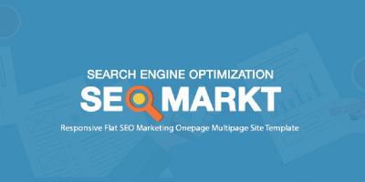 SEOMarkt - Responsive Flat SEO Marketing Onepage Multipage Site Template