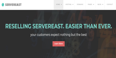 ServerEast - Web Hosting HTML Template
