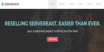 ServerEast - Web Hosting HTML Template