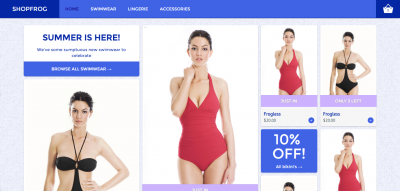 Shopfrog - Modern E-Commerce