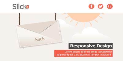 Slick-Responsive E-mail Template