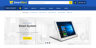 SmartElect - Responsive Prestashop 1.7 Theme