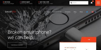 SmartFix - The Technology Repair Services WordPress Theme