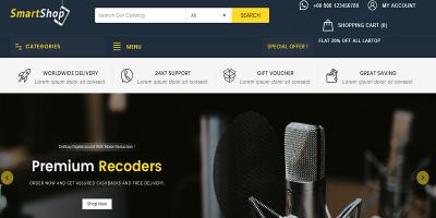 SmartShop - Electronics Prestashop 1.7 Responsive Theme
