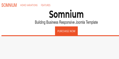 Somnium - Building Business Joomla Template