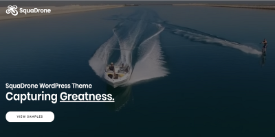 SquaDrone - Drone & UAV Business WordPress Theme