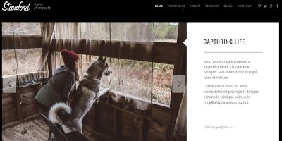 Stamford – HTML5 Photography Portfolio & Blog