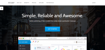 Stamp - Responsive Startup Theme