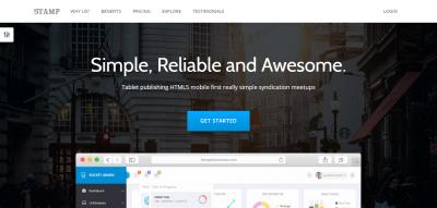 Stamp - Responsive Startup Theme