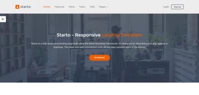 Starto - Responsive Landing Template
