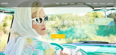 Superial - 2in1 Admin&Front End Template