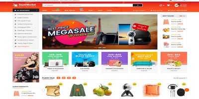 SuperMarket - Multi-purpose Responsive OpenCart 3 Theme (3+ Mobile Layouts Ready)