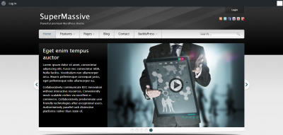 SuperMassive: Multi-Purpose WordPress/BuddyPress Theme