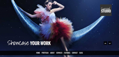Surreal - Responsive Parallax One Page HTML5