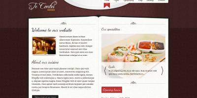 Te Contei -  Joomla 1.6 Restaurant Template