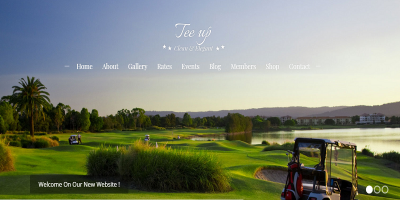Tee Up - Elegant Golf WordPress Theme