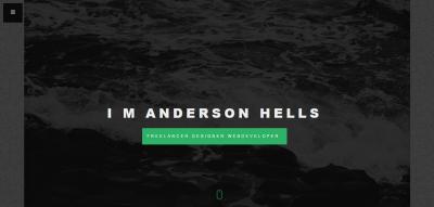 Tesla Onepage Personal / Portfolio WordPress Theme