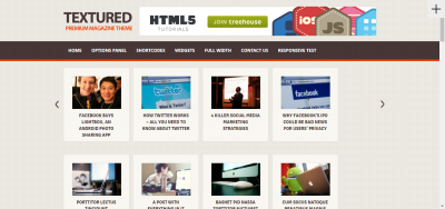 TEXTURED - Multipurpose WordPress Blog Theme