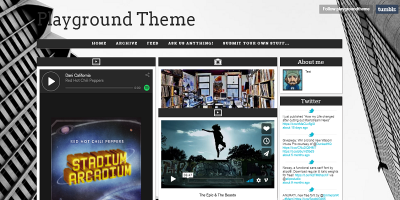 The Playground Tumblr Theme