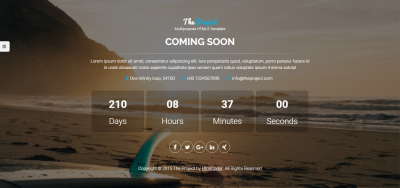 The Project - Multipurpose Template