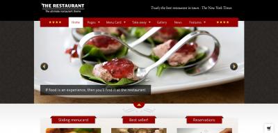The Restaurant - WordPress Theme