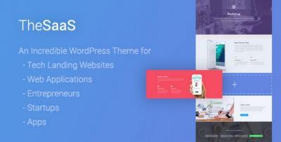 TheSaaS - Responsive SaaS, Software & WebApp WordPress Theme