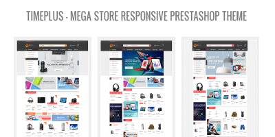 TimePlus - Mega Store Responsive Prestashop Theme