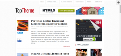 Top - WordPress Theme
