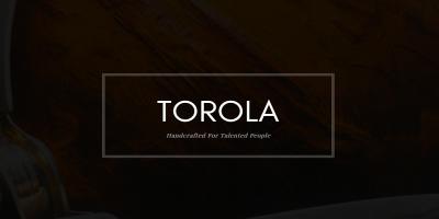 Torola - Creative Portfolio HTML Template