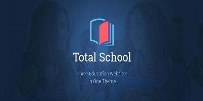 Total School - Primary, Secondary & High School Education WordPress Theme