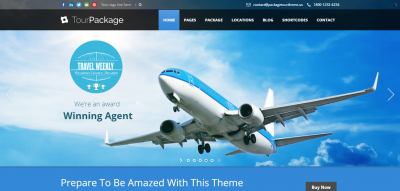 Tour Package - Wordpress Travel/Tour Theme