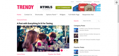 Trendy - Multicolumn & Clean Magazine Theme