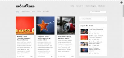Urban - Magazine WordPress Theme
