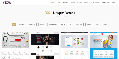 VEDA - Multi-Purpose Theme