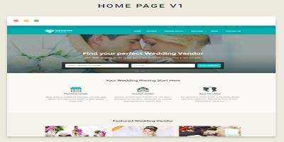 Vendor Directory HTML Template - Wedding Vendor