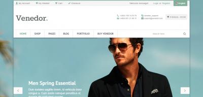 Venedor - WordPress + WooCommerce Theme