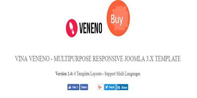 Veneno - Multipurpose Joomla eCommerce Template