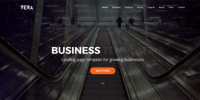 Vera - Business Landing Page Template