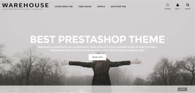 Warehouse - Responsive Prestashop 1.6 Theme + Blog