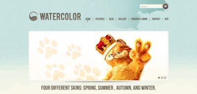 Watercolor WordPress
