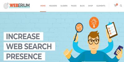 Weberium - Responsive WordPress Theme Tailored for Digital Agencies