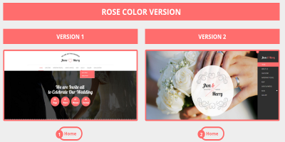 Wedding Day - Wedding HTML Template