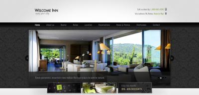 Welcome Inn, Spa & Ski Resort HTML Theme