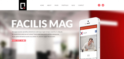 White - Multipurpose Responsive WordPress Theme