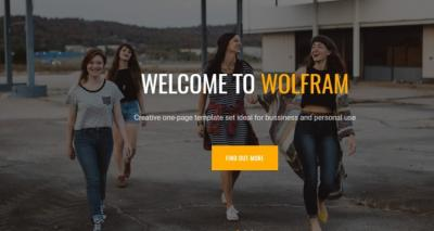Wolfram: 6 Landing Pages in 1